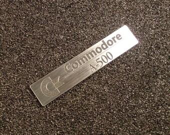 Commodore Amiga 500 Label / Logo / Sticker / Badge 68 x 14 mm [246]