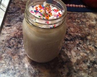 Primitive jar candle 1/2 quart!!!