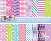 Doc McStuffins Digital Paper Kit