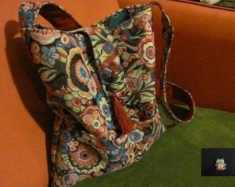 wild flowers bag
