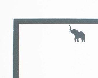 Personalized Stationery // Personalized Stationary // Elephant Stationery // Critters // Stationery Set // Custom Stationary