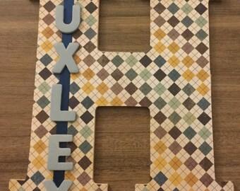 Custom Letter and Name Gift