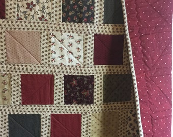 Richmond Reds Lap Quilt