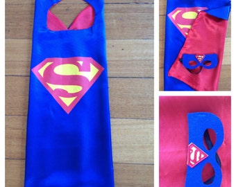 Superman Mask & Cape Set