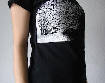 Shrub T-shirt screen printing