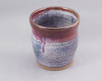 Pottery Cup Red & Lipstick Purple REDLP10