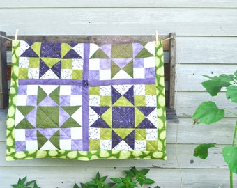 Baby Quilt - Modern, Traditional, Baby quilt, Receiving blanket, Lap Quilt, Decor