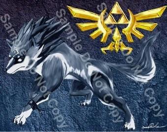 Twilight Princess - Wolf Link