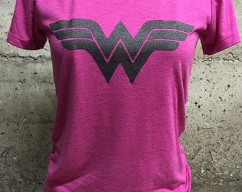 Pink Wonder Woman Tee