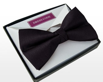 Mens Luxury Black Bow Tie Gift Boxed New **SALE PRICE**