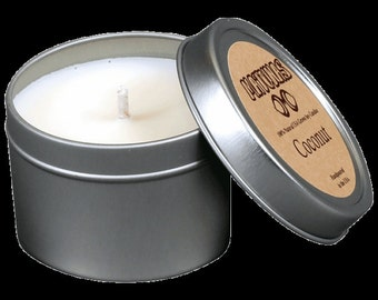 100% Natural, Hand made USA farm grown soy candles