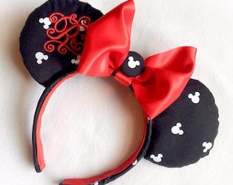 Classic Mickey Silhouette Headband