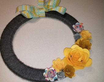 Lemon Sorbet Wreath