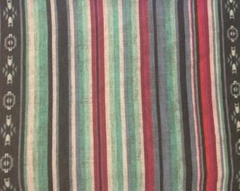 Navajo Inspired Stripe Spandex Jersey