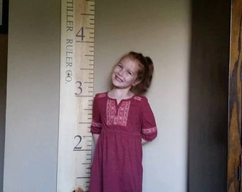 Wooden Growth Chart