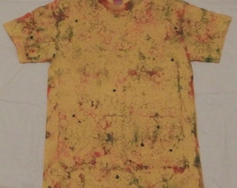 Tie Dyed T-shirt with aTextured Design