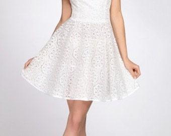 658 Dress.  Embroidery on organza. Summer dress, elegant dress, festive dress, evening dress