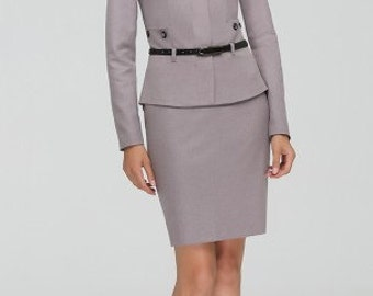 776, Suit 2 subject: jacket, skirt. Women suit. Skirt Suit