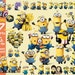 Despicable Me Minions 57 clipart  transparent background  png format files