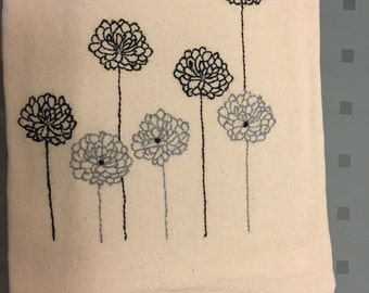 Hand embroidered Tea Towels-8 dollars per towel