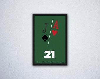 Minimalist 21 Poster
