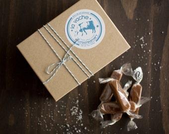 Fleur de Sel Caramels (8oz Box)