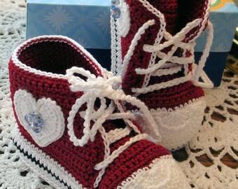 Infant Converse Tennis Shoes ( 3-6 months)