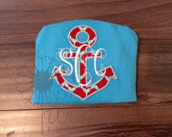 Anchor with Monogram Shirt