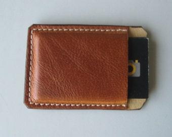 Tan Business Card Holder
