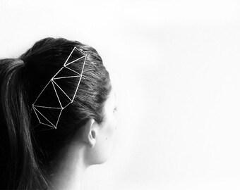 Florina headpiece - Metal modern headpiece