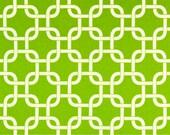 Premier Prints Geometric Gotcha in Chartreuse Twill Home Decor fabric, 1 yard