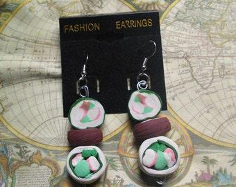 Sushi and Sashimi earrings
