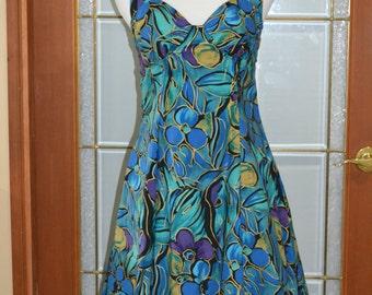 Vintage 80's Halter dress