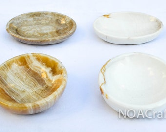 Small Bowls in Onix Stone (pair)