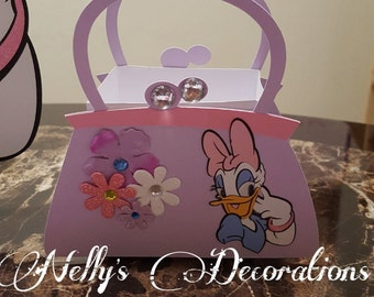 Daisy Duck Favor Boxes set of 10