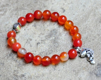 Koi fish bracelet etsy for Koi fish beads