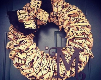 Live, Love, Laugh Wreath