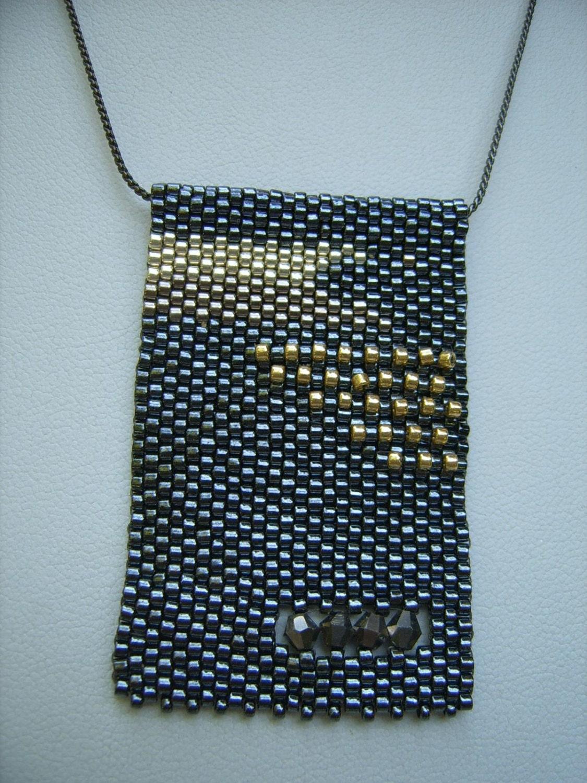 sacramento bead seed bead necklace wearable