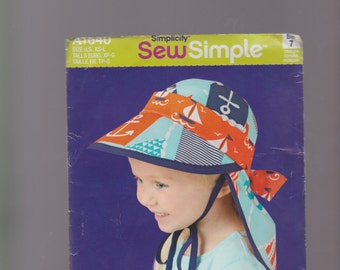 Child's hat in 4 sizes