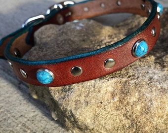 Leather Cat Collar