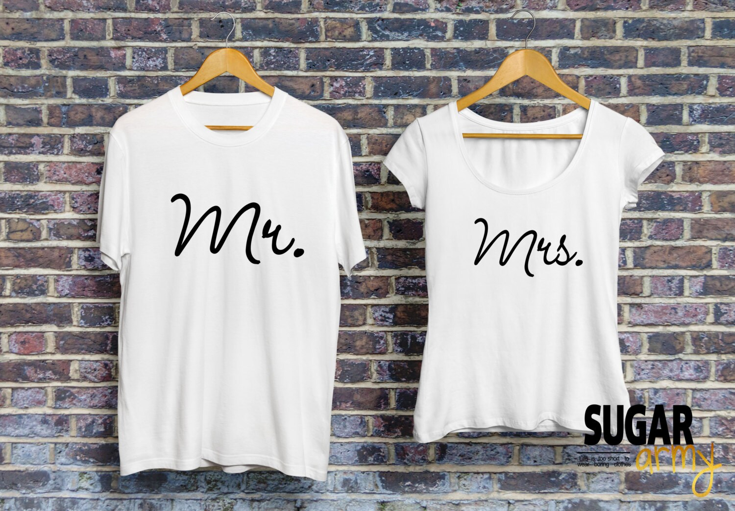 Mr and Mrs shirts for couples matching couple shirts husband