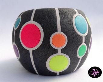Polymer clay tutorial - Spherical bracelet
