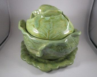Cabbage Bowl, Soup/Serving Bowl, 1978