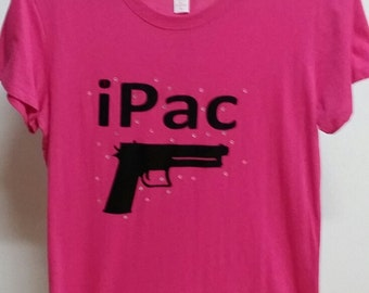 iPac t shirt for the ladies with bling