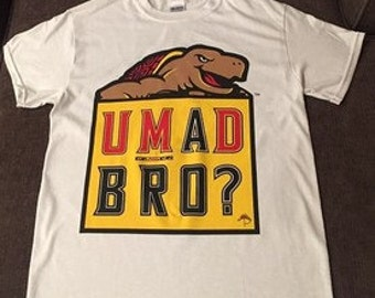 University of Maryland Terrapins U Mad Bro? Shirt (S-XL)