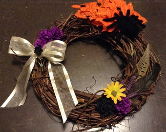 Halloween Samhain Wreath