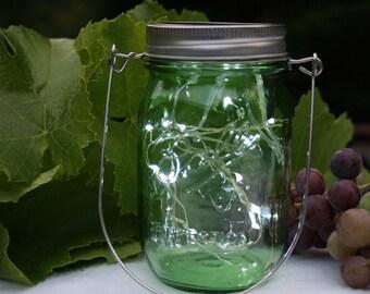Mason Star Jar Light