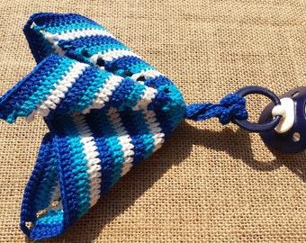 Crochet pacifier cloth
