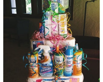 diaper cakes and unique gifts to order