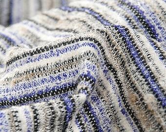 Striped Wool Fabric